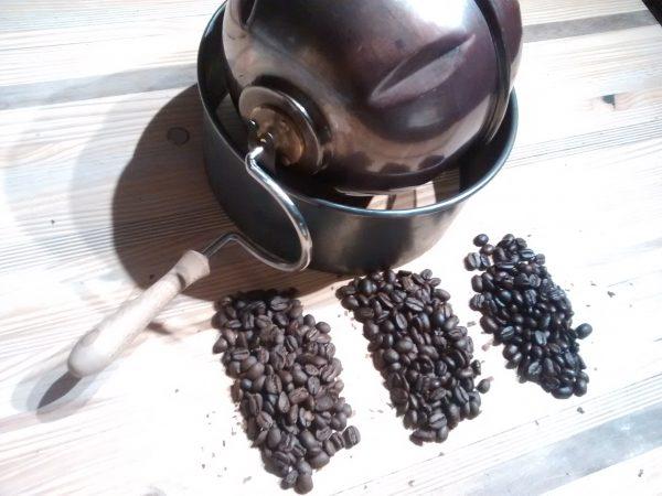 Torremano et différentes torréfactions du café