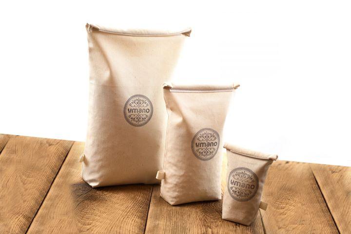 Sacs d'emballage réutilisables
