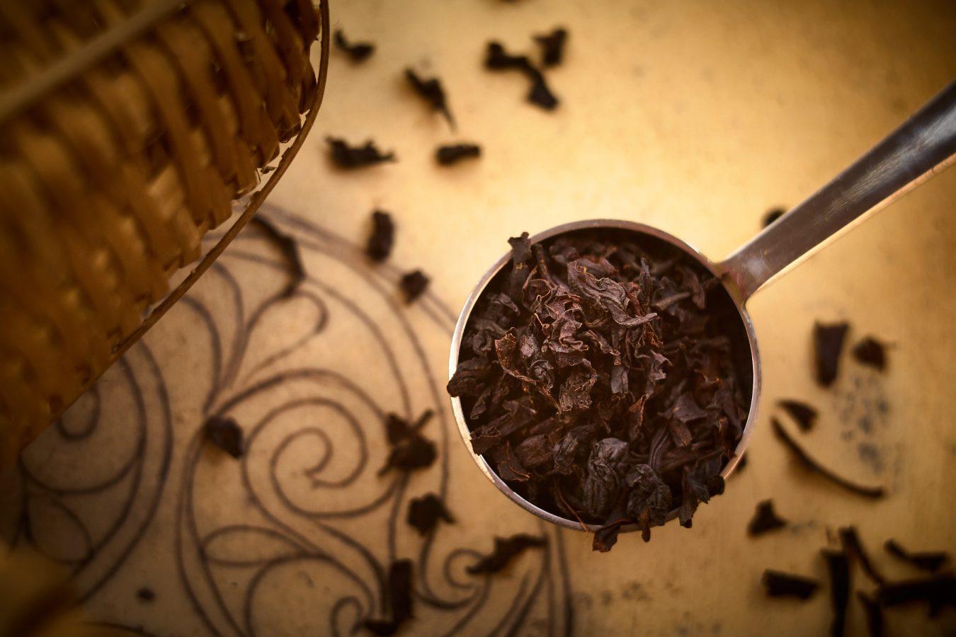 Thé noir feuilles roulées Flowery Pekoe