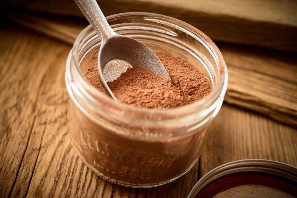 Chocolat chaud au lait en poudre
